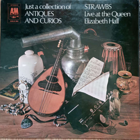 Strawbs Just A Collection Of Antiques And Curios (Live At The Queen Elizabeth Hall) LP 0