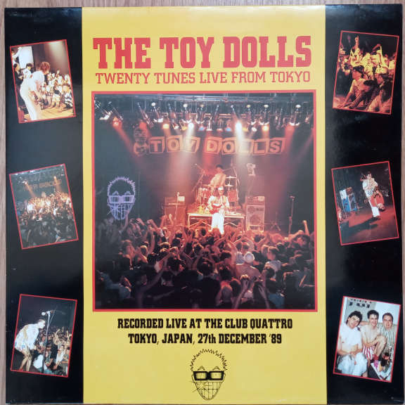 The Toy Dolls Twenty Tunes Live From Tokyo LP 0