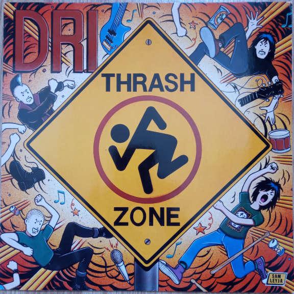 D.R.I. Thrash Zone    LP 0