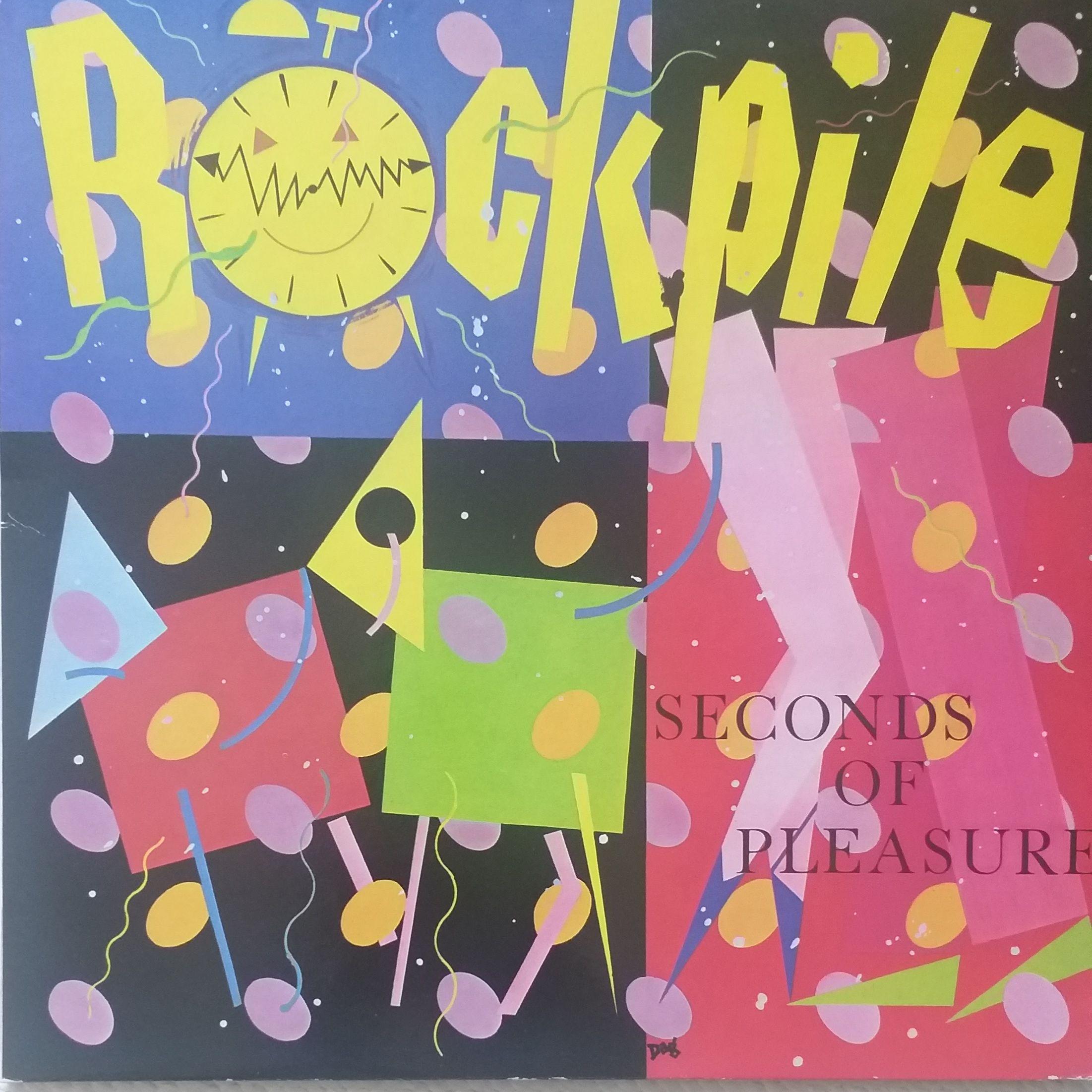 Rockpile Seconds of pleasure LP undefined