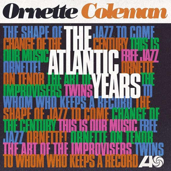 Ornette Coleman The Atlantic Years (box set) LP 2018
