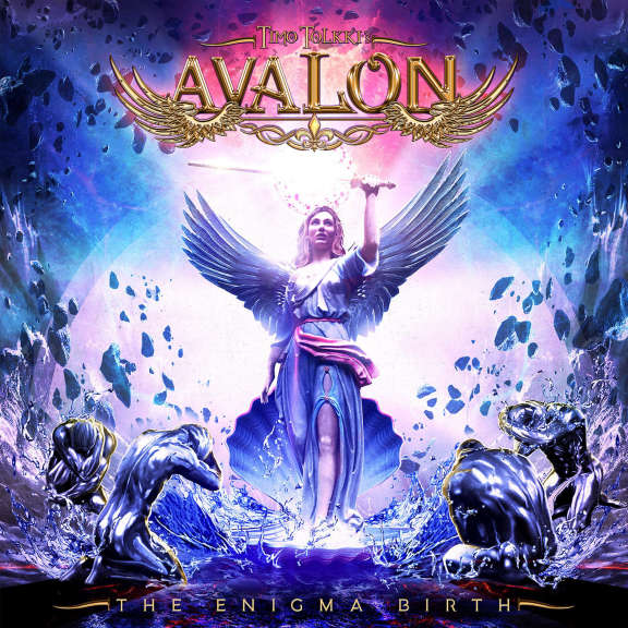 Timo Tolkki's Avalon The Enigma Birth (coloured) LP 2021