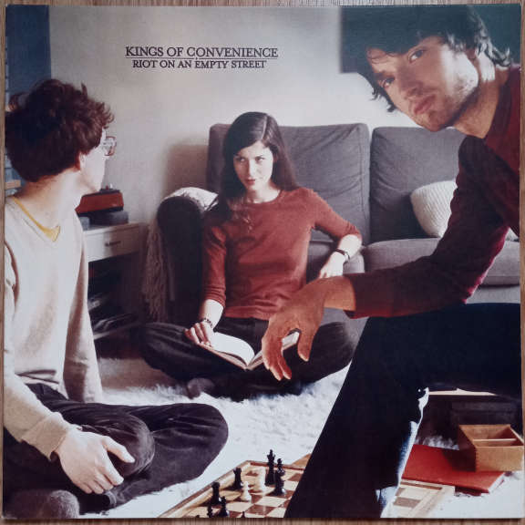 Kings Of Convenience Riot On An Empty Street LP 0