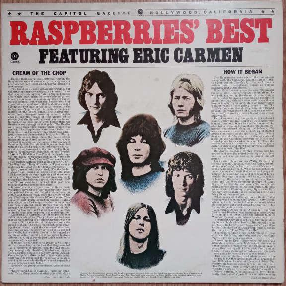 Raspberries Featuring Eric Carmen Raspberries' Best - Featuring Eric Carmen LP 0