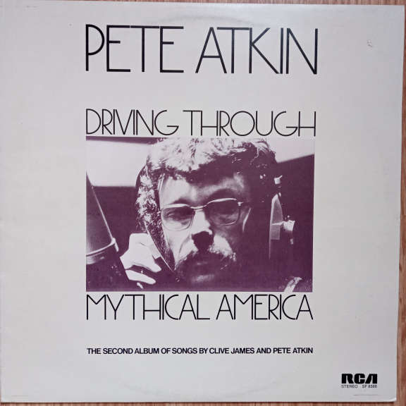 Pete Atkin Driving Through Mythical America LP 0