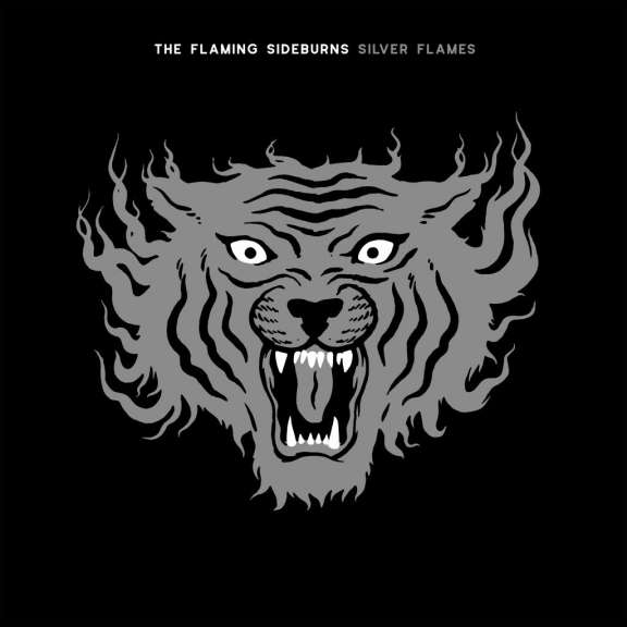 The Flaming Sideburns Silver Flames LP 2021