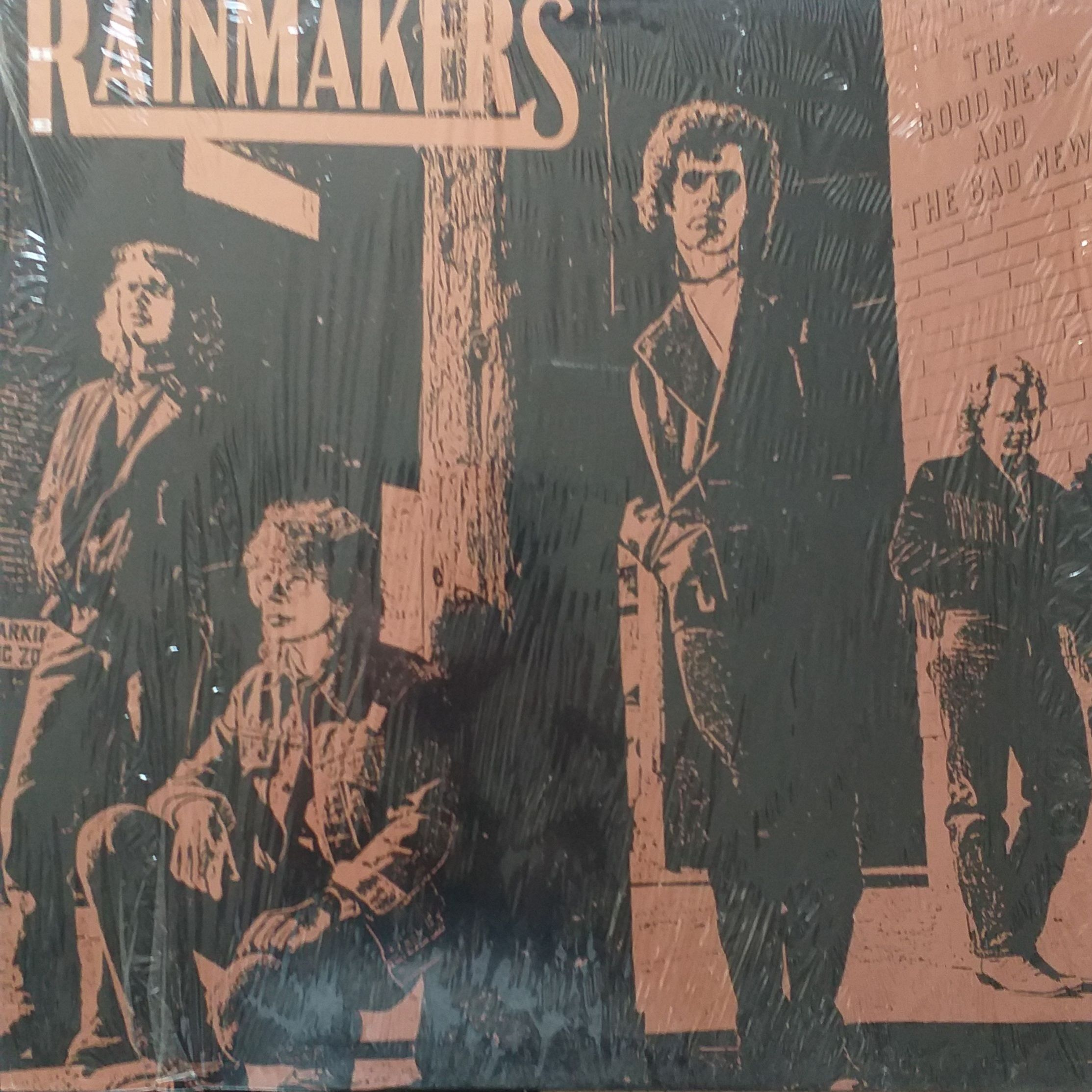 The Rainmakers The good news and the bad news LP undefined