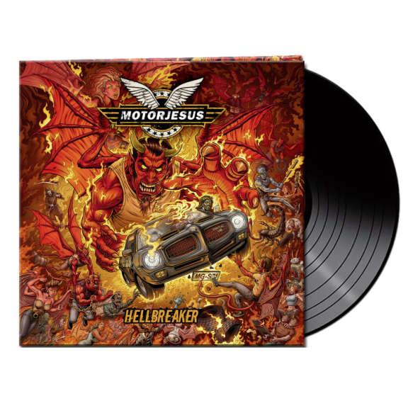 Motorjesus Hellbreaker (black) LP 2021