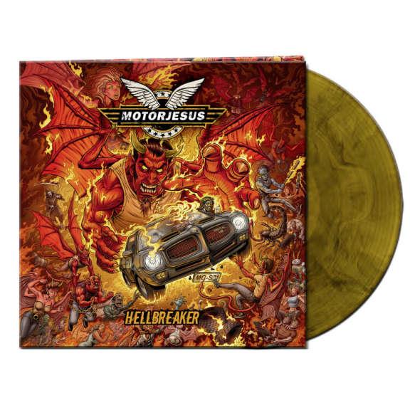 Motorjesus Hellbreaker (orange/black) LP 2021