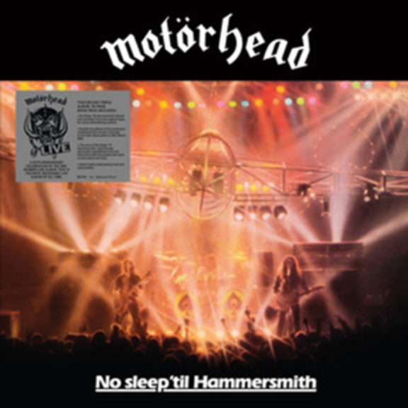 Motörhead No Sleep 'Til Hammersmith LP 2021