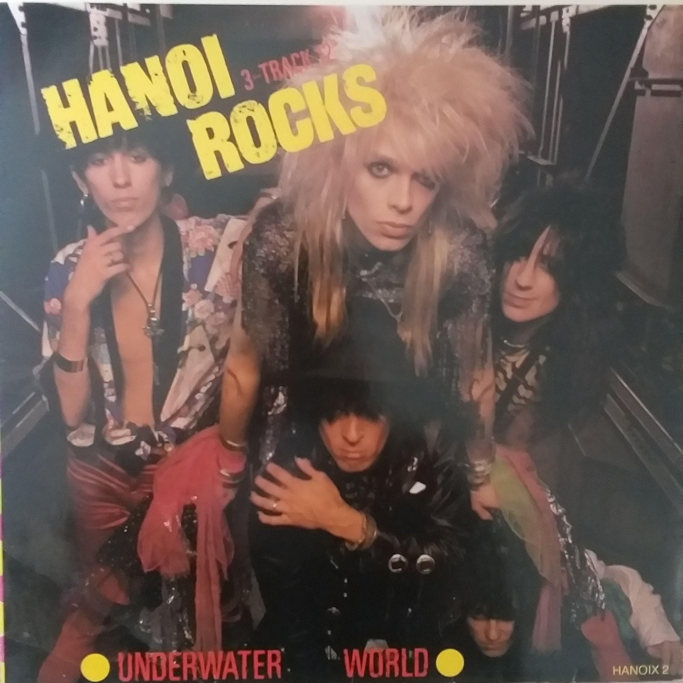 Hanoi rocks Underwater world LP undefined