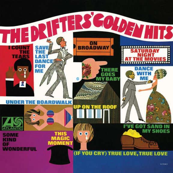 The Drifters' Golden Hits LP 2021