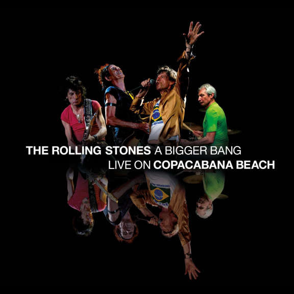 The Rolling Stones A Bigger Bang - Live On Copacabana Beach (black) LP 2021
