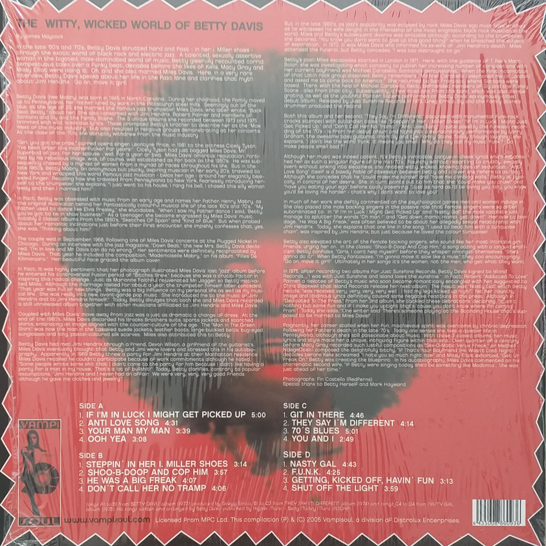 Betty Davis This is it ! A funk anthology LP undefined