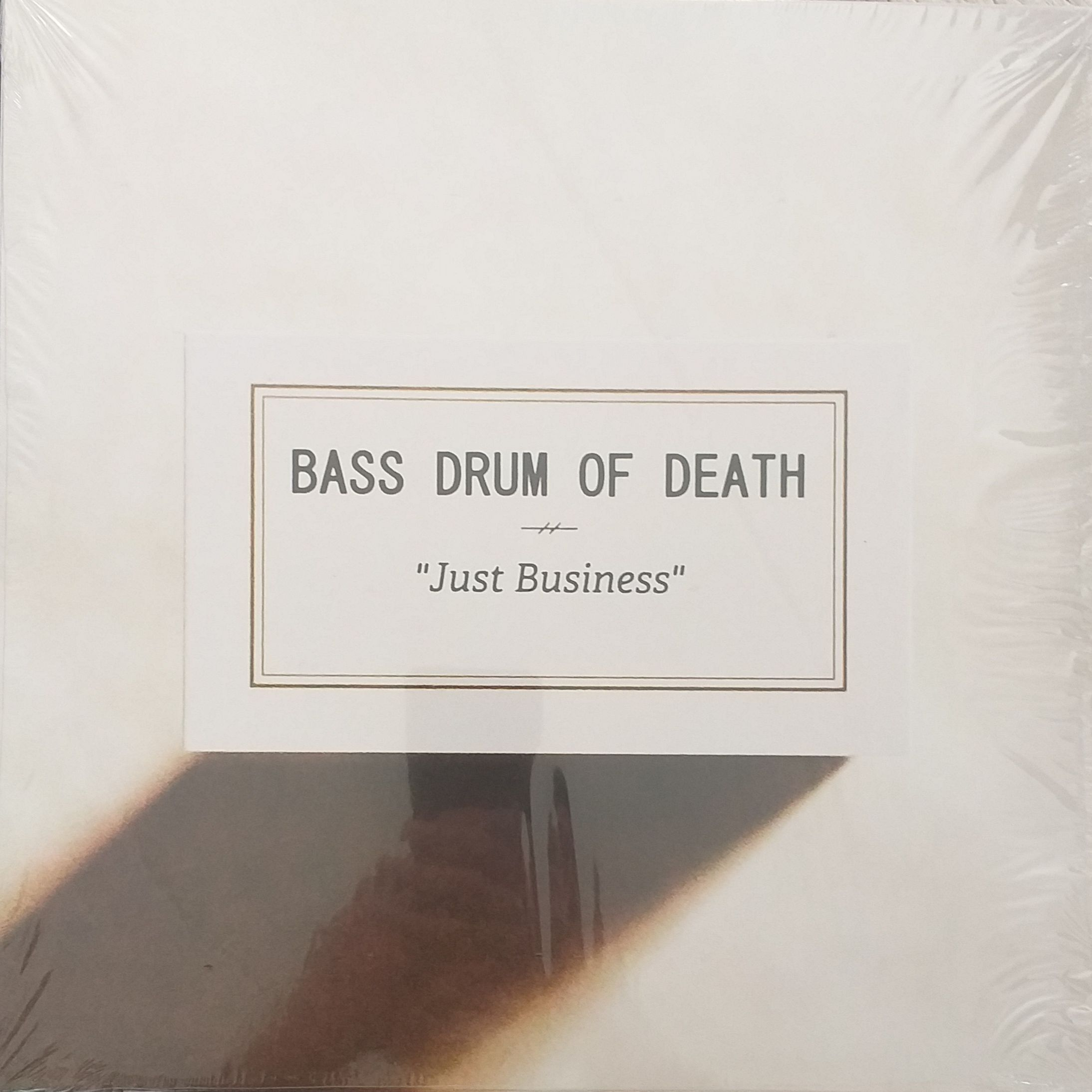 Bass drum of death Just business LP undefined