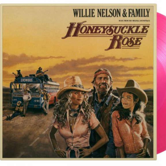 Willie Nelson & Family Soundtrack : Honeysuckle Rose (coloured) LP 2021