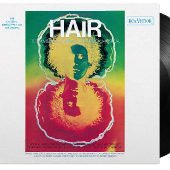 Galt MacDermot (various artists) Soundtrack : Hair (Original Broadway Cast) (black) LP 2021