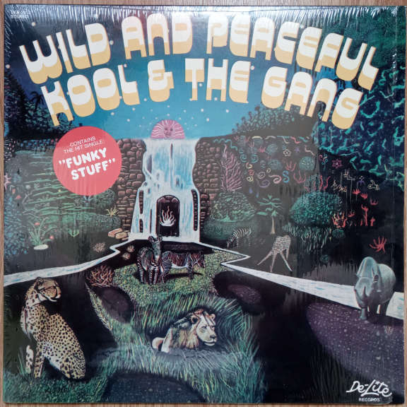 Kool & The Gang Wild And Peaceful LP 0