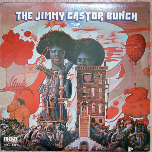The Jimmy Castor Bunch It's Just Begun   LP 0