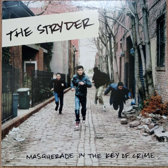 The Stryder Masquerade In The Key Of Crime LP 0