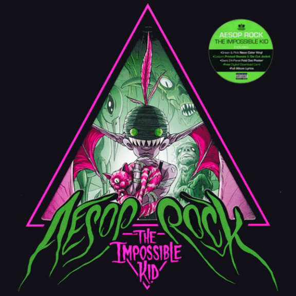 Aesop Rock The Impossible Kid (Coloured vinyl) LP 2016