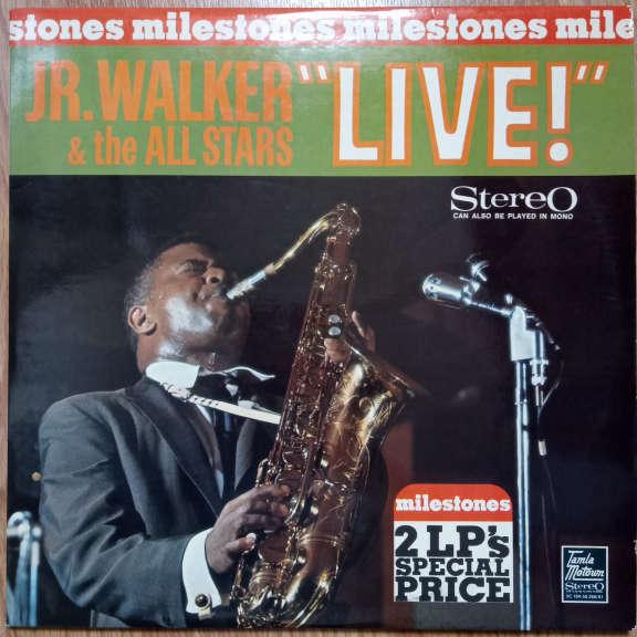 Jr. Walker & The All Stars Milestones - Jr. Walker & The All Stars Live LP 0