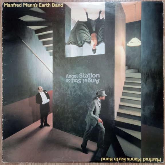 Manfred Mann's Earth Band Angel Station LP 0