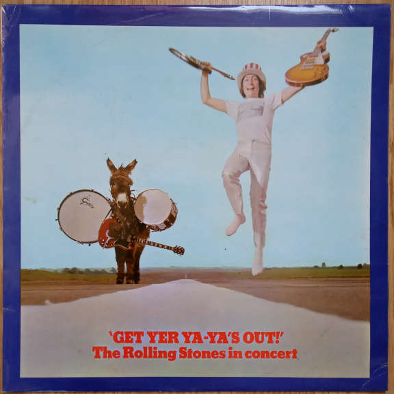 The Rolling Stones Get Yer Ya-Ya's Out! - The Rolling Stones In Concert  LP 0