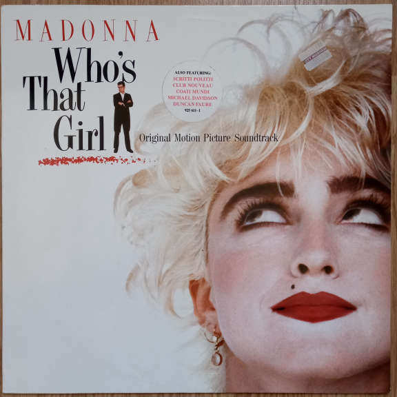 Madonna Who's That Girl (Original Motion Picture Soundtrack) LP 0