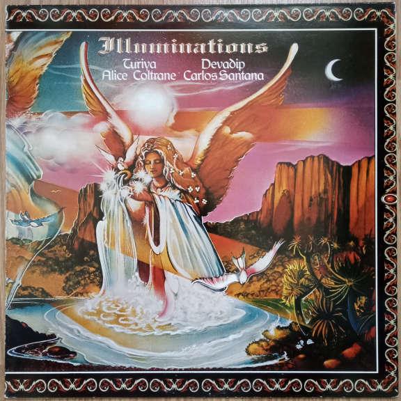 Devadip Carlos Santana & Turiya Alice Coltrane Illuminations LP 0