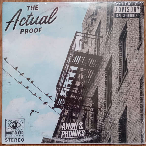Awon & Phoniks The Actual Proof LP 0