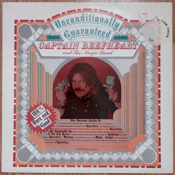 Captain Beefheart And The Magic Band Unconditionally Guaranteed LP 0