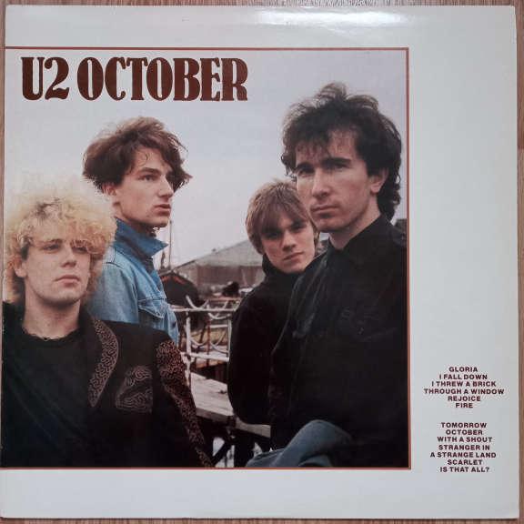 U2 October  LP 0