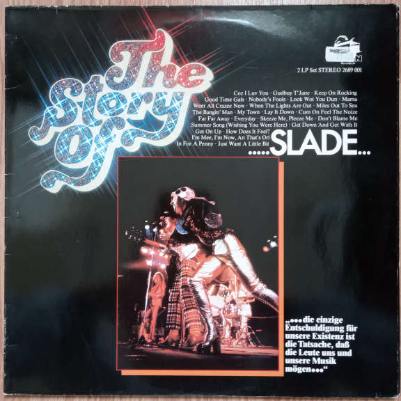 Slade The Story Of Slade LP 0