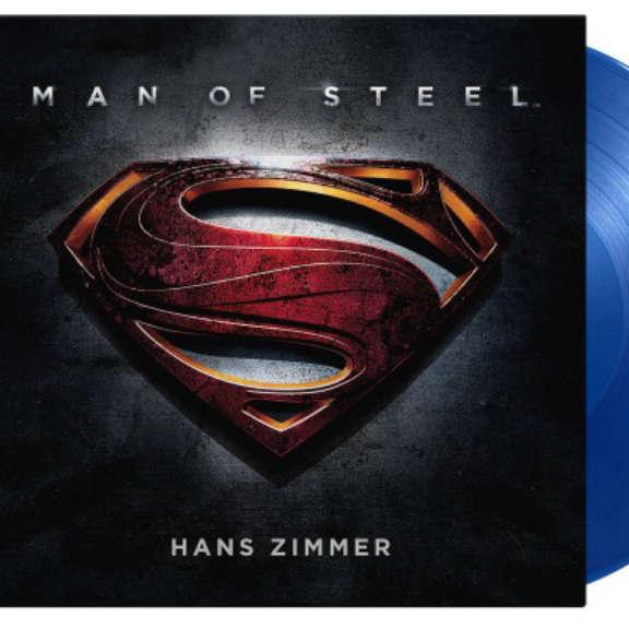 Hans Zimmer (various artists) Soundtrack : Man Of Steel (coloured) LP 2021