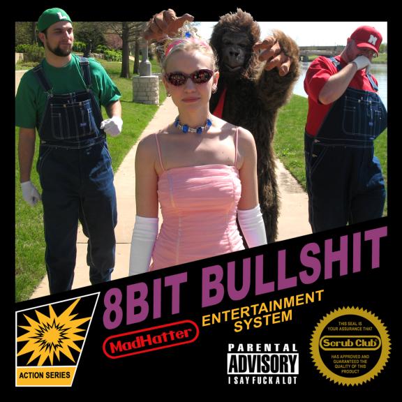 MadHatter 8Bit Bullshit (coloured) LP 2021