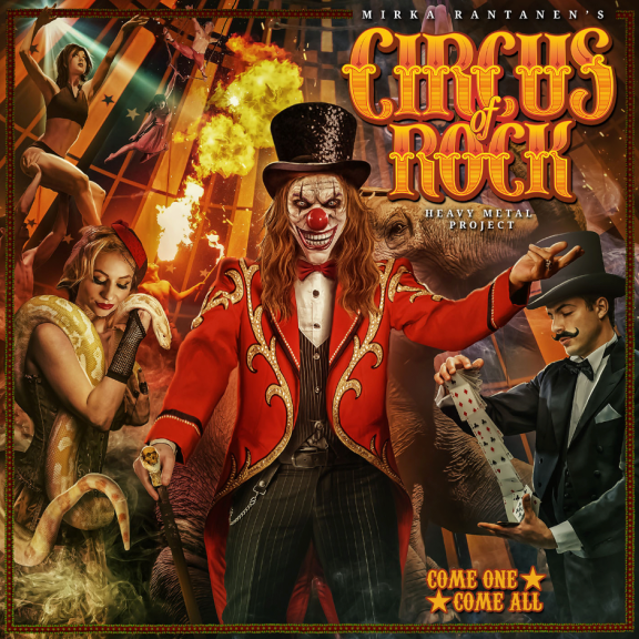 Circus Of Rock Come One, Come All LP 2021