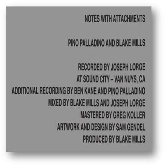 Pino Palladino & Blake Mills  Notes With Attachments LP 2021