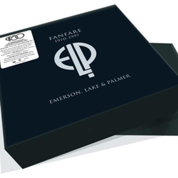 Emerson & Lake & Palmer Fanfare 1970-1997 (box set) LP 2021