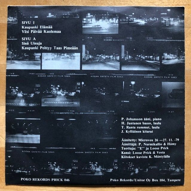 Loose Prick Kaupunki EP LP undefined