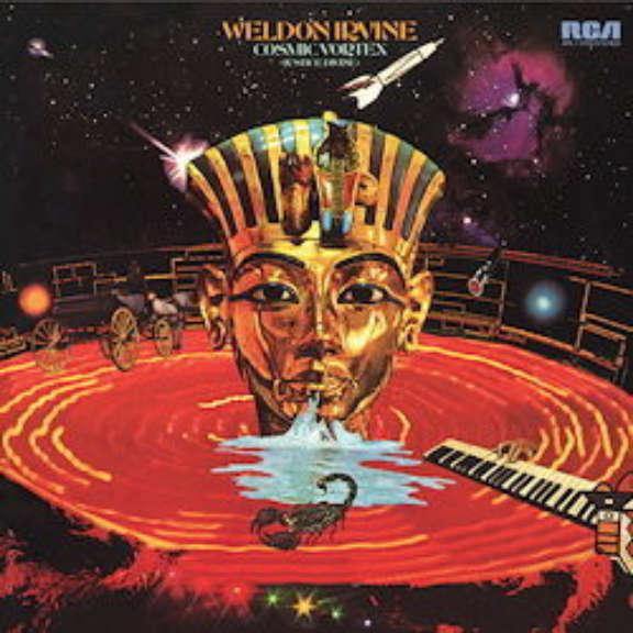 Weldon Irvine Cosmic Vortex (Justice Divine) LP 0