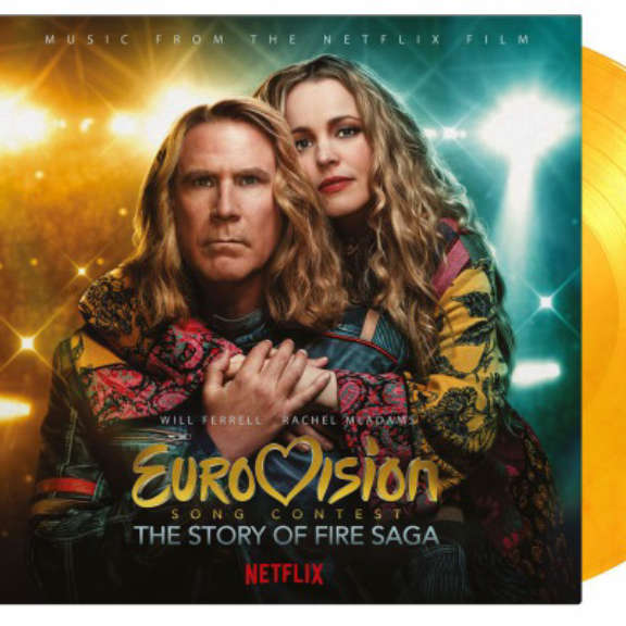 Various Soundtrack : Eurovision Song Contest: Story of Fire Saga (flaming) LP 2021