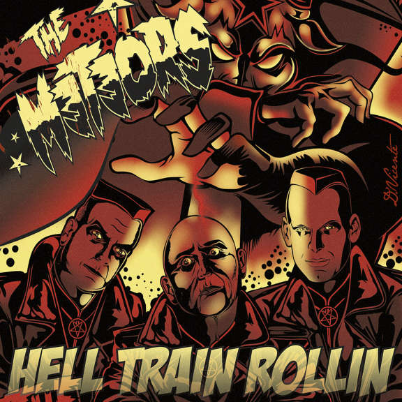 The Meteors Hell Train Rollin' (coloured) LP 2021
