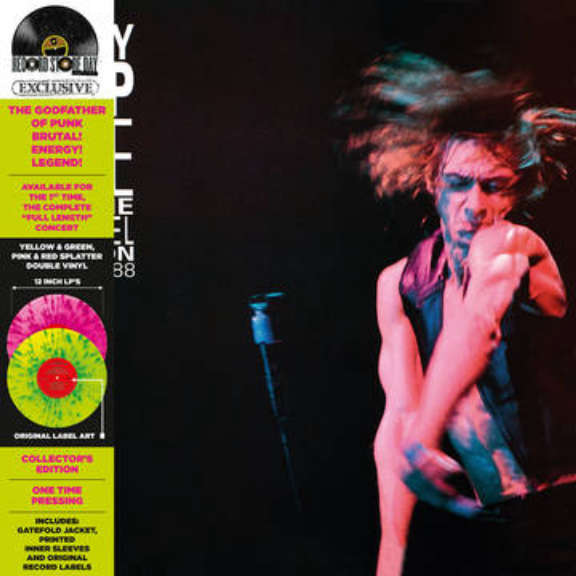 Iggy Pop Live At The Channel Boston (RSD 2021, Osa 1) LP 2021