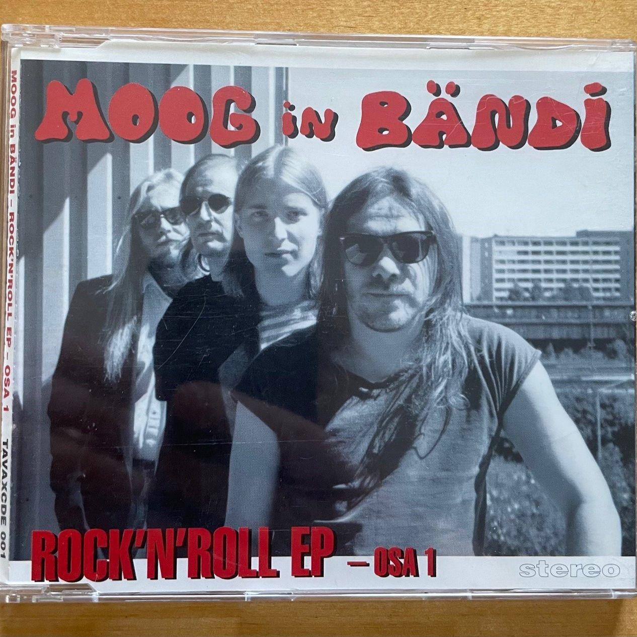 MOOG in BÄNDI Rock'n'roll EP - osa 1 LP undefined