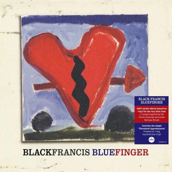 Black Francis Bluefinger (coloured) LP 2021