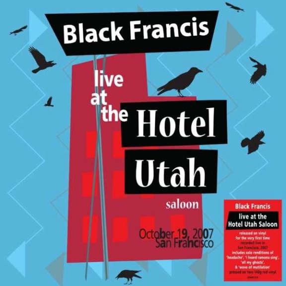 Black Francis Live at the Hotel Utah Saloon (coloured) LP 2021
