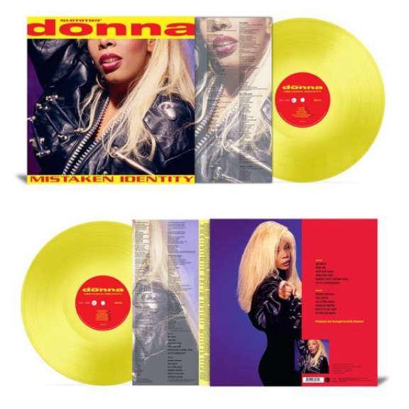 Donna Summer Mistaken identity (coloured) LP 2021