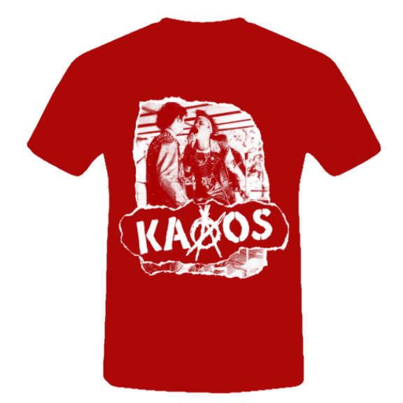 Kaaos T-paita Punainen  Oheistarvikkeet 0