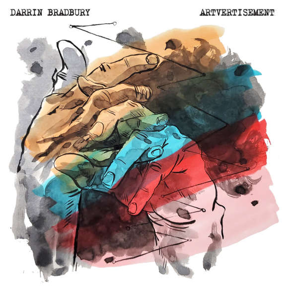 Darrin Bradbury Artvertisement (coloured) LP 2021